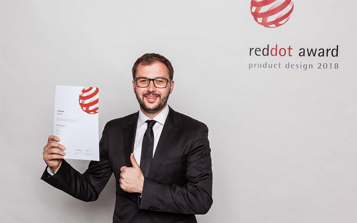 We received the Red Dot award!