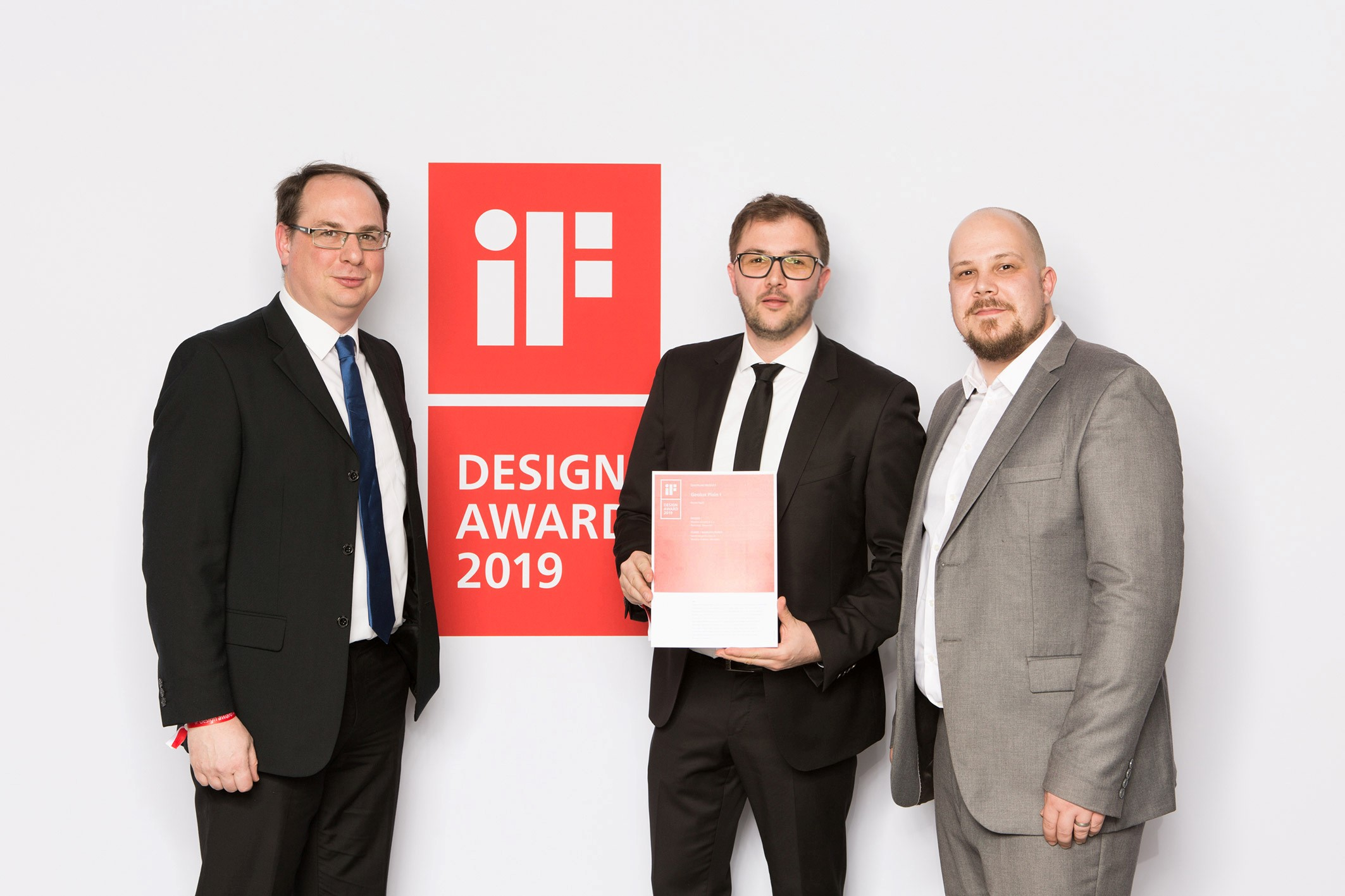 Reaping the rewards – the iF Design Award is ours!